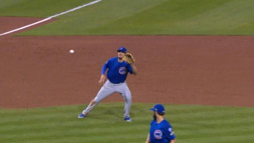Kris Bryant makes catch on liner