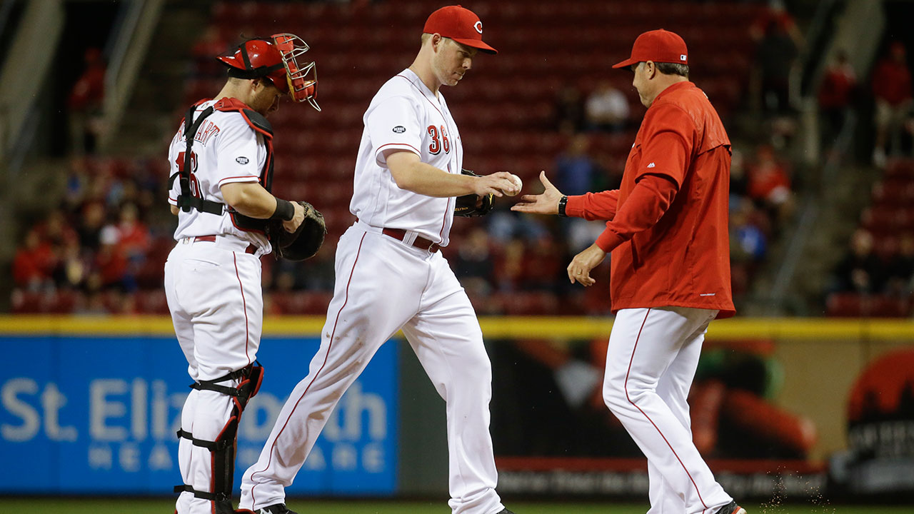 Wood comes undone as Reds' 'pen struggles