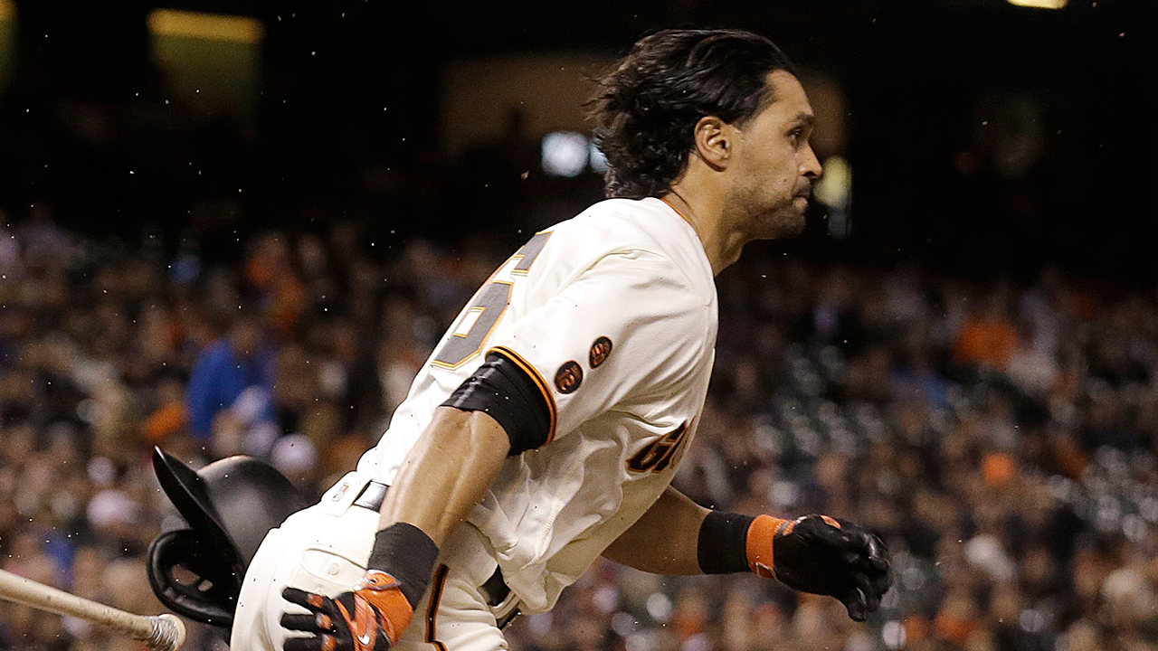 Pagan goes on DL; Giants call up Parker