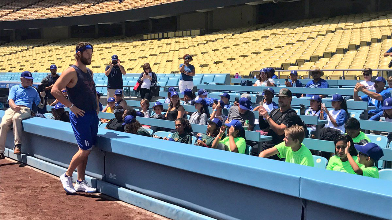 Kershaw talks healthy lifestyle at PLAY event