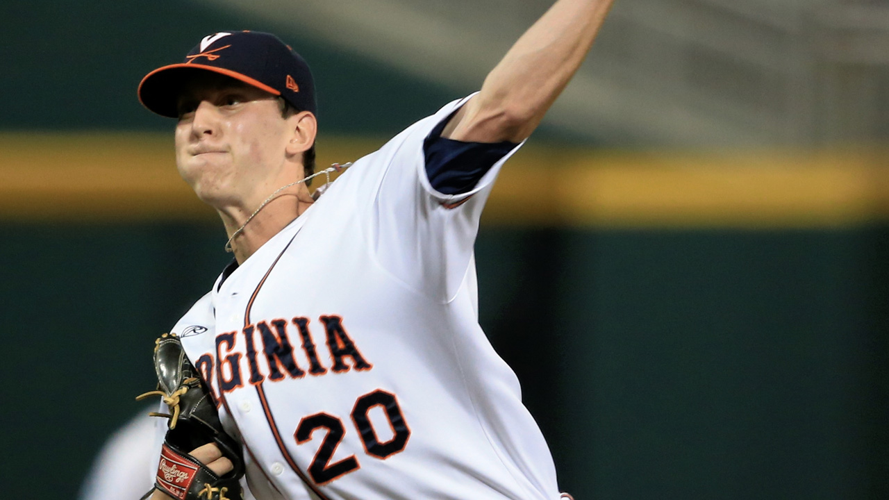 Virginia lefty Waddell shines at CWS