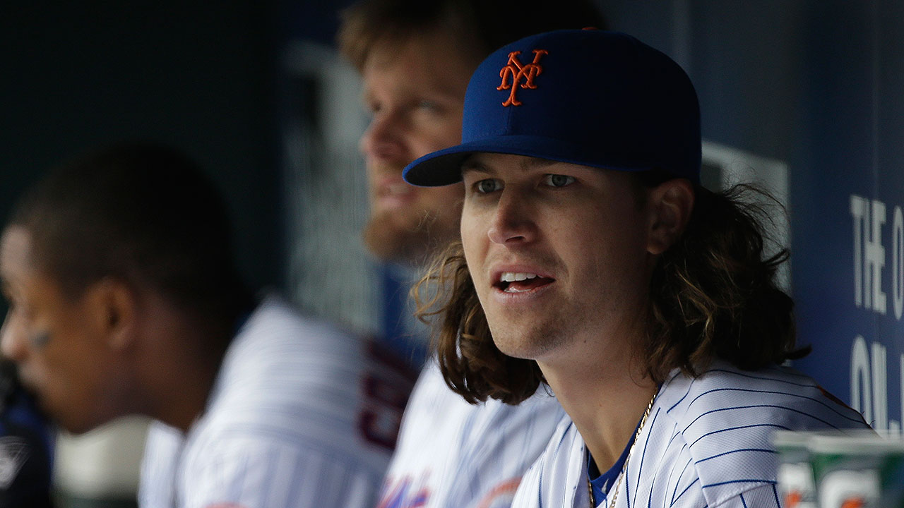 deGrom on track to return after simulated game