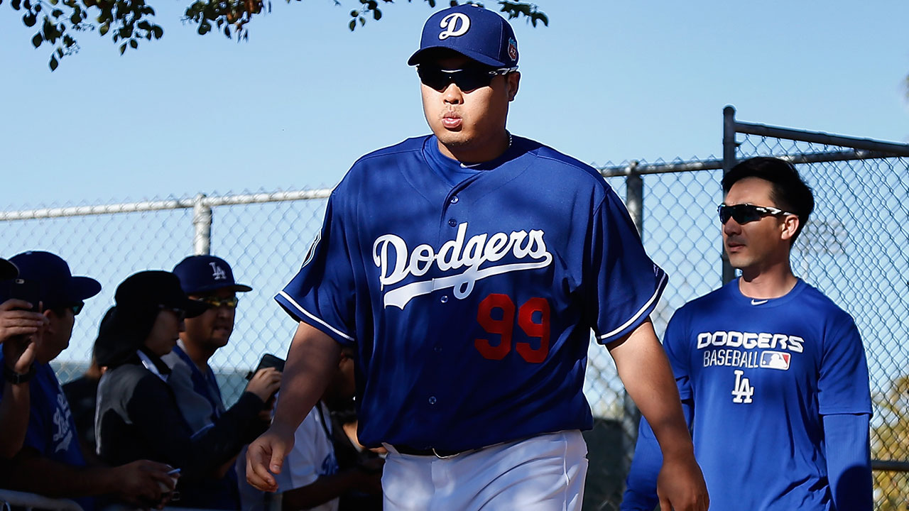 Three Dodgers starters nearing rehab outings