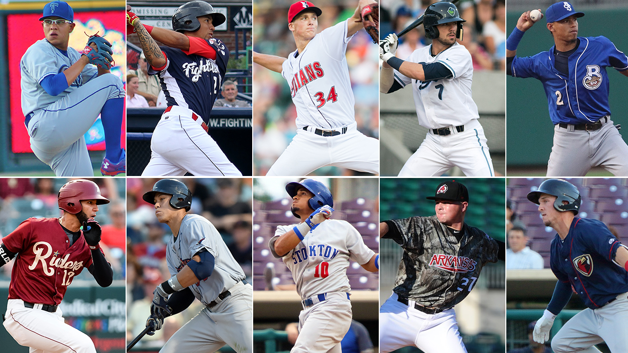 Top 10 prospects in Minor League playoffs