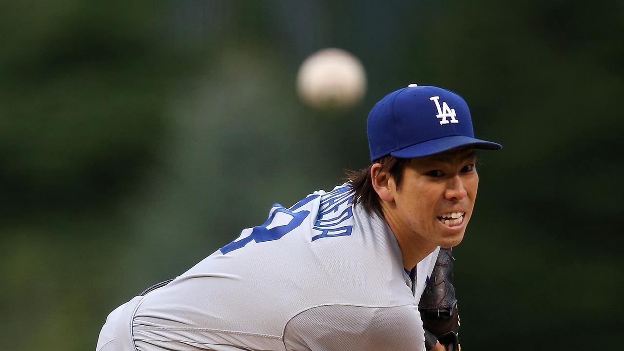 Dodgers Maeda flirts with no-hitter | MLB.com