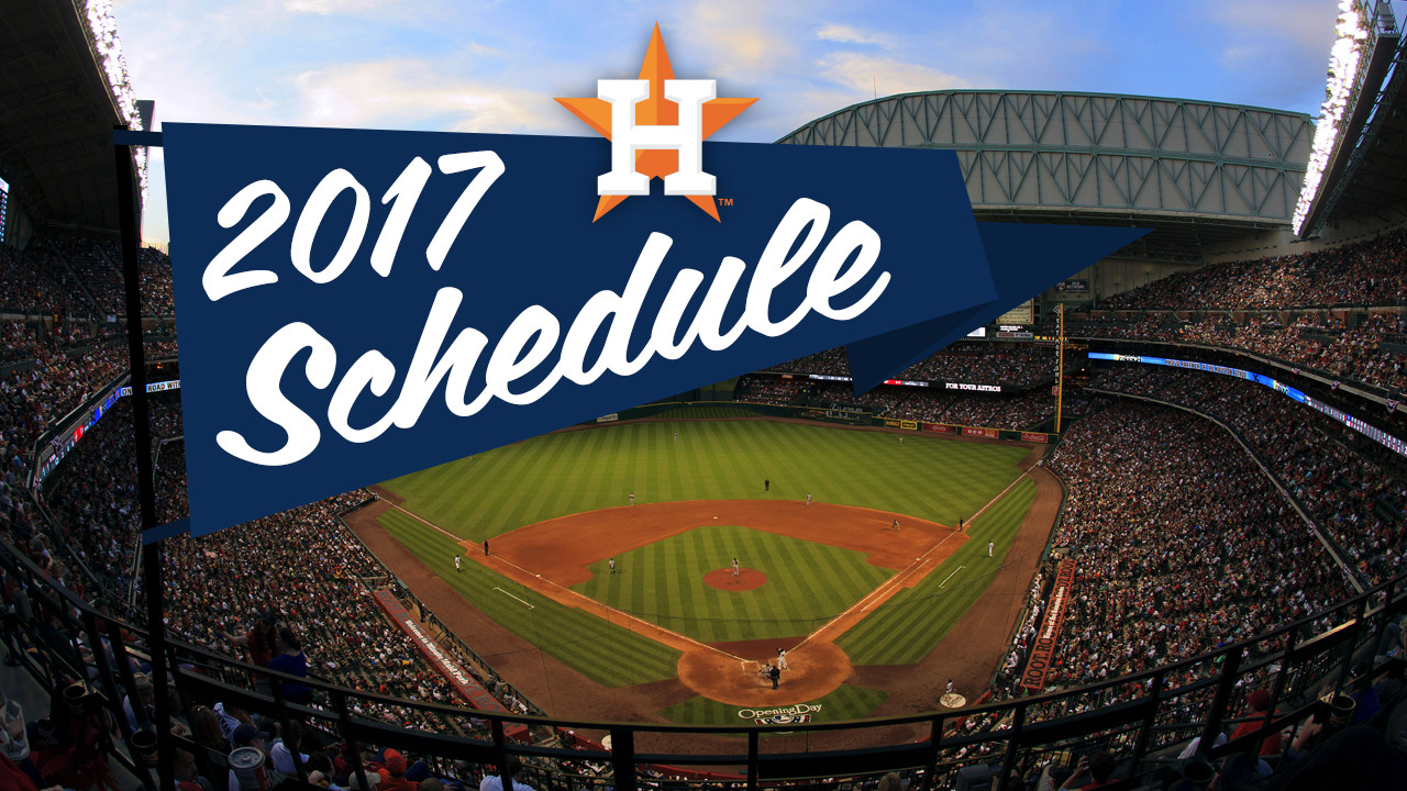 Astros face tough AL West foes early in '17