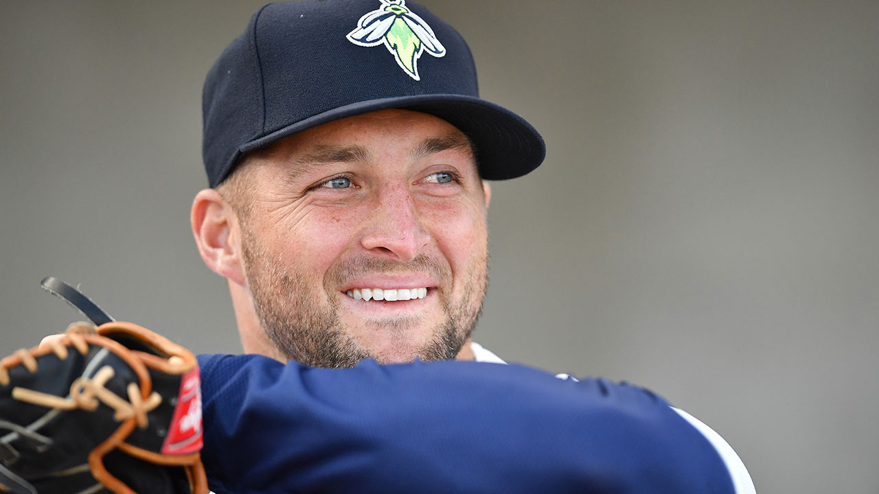 Tebow adjusting to Class A life in Columbia