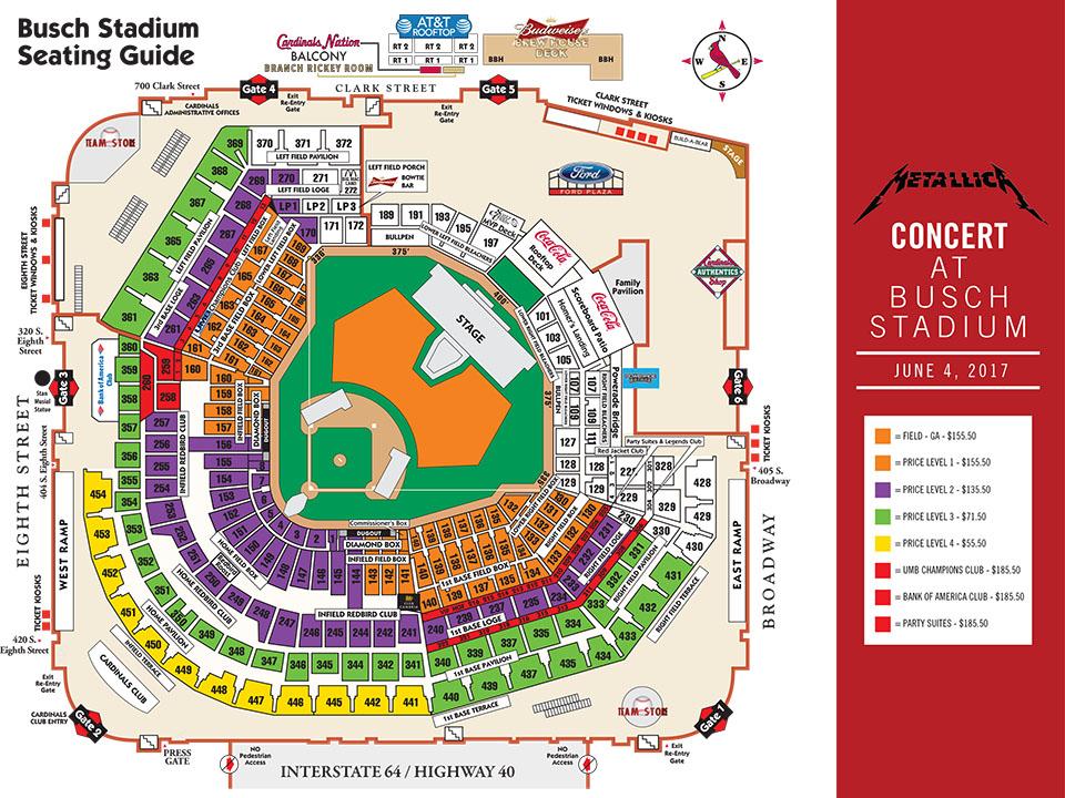 Metallica at Busch Stadium | MLB.com