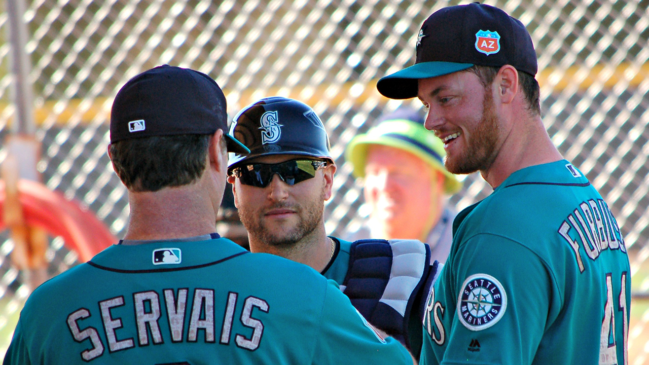Furbush feeling fine after first mound test
