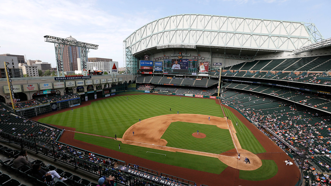 Astros Want Minute Maid Park Roof Closed Mlb Com