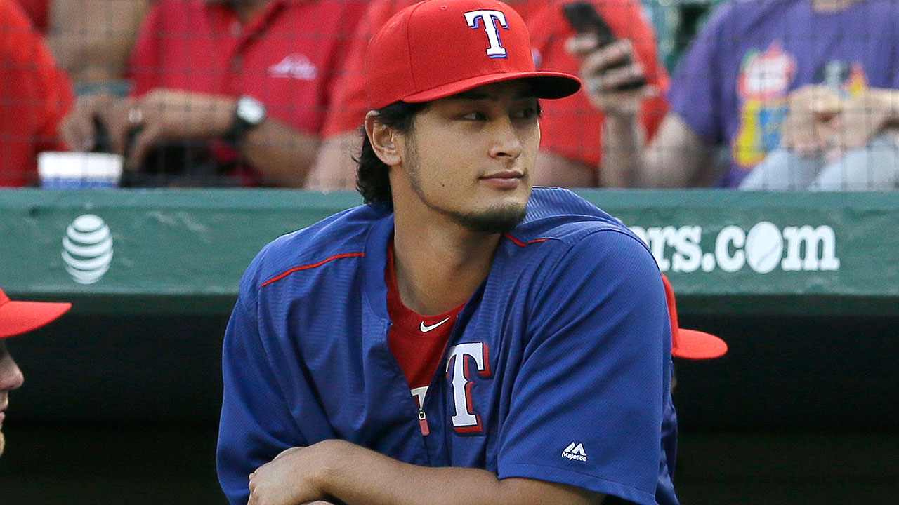 Texas eyes 85-90 pitches for Yu's debut