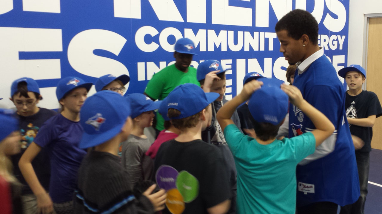 Jays Care unveils community hub at Boys & Girls Club of Kingston