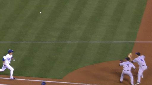 Rockies flub at 1st base