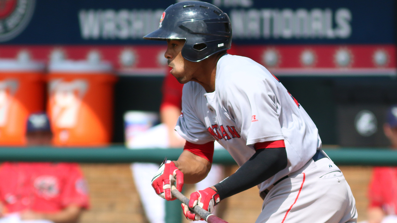 Ramos' bunt single completes cycle for PawSox