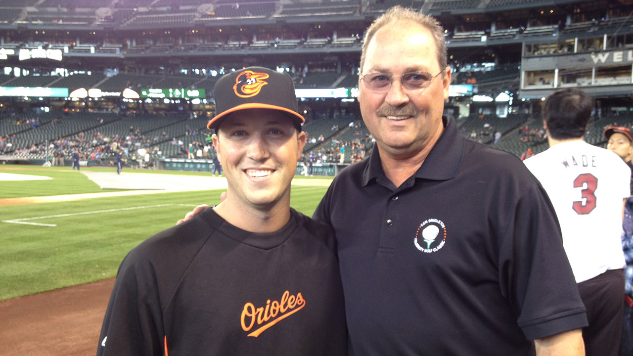 Mariners Steve Johnson following dad s career