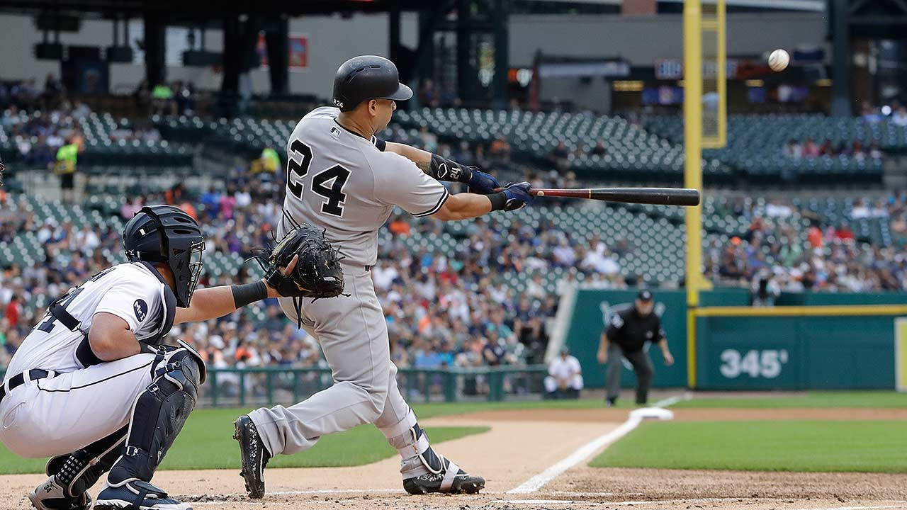 Gary Sanchez leads Yankees' rout of Tigers