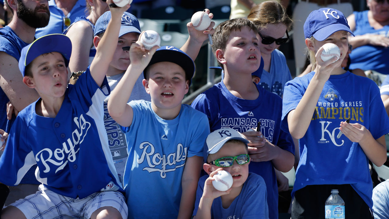 Royals want players to enjoy work with kids