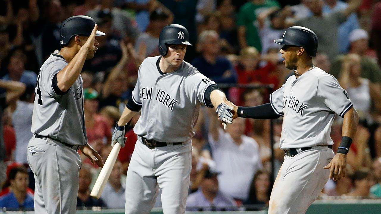 Yankees rally in eighth inning to beat Red Sox | MLB.com  Yankees