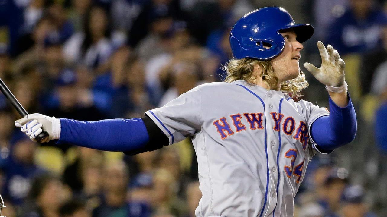 mets' noah syndergaard hits two home runs