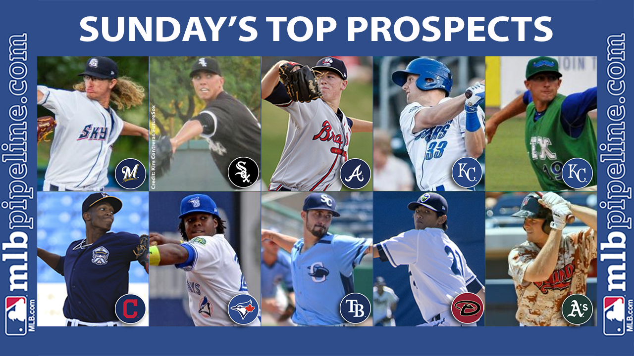 Hader, Hansen among top prospect performers Sunday