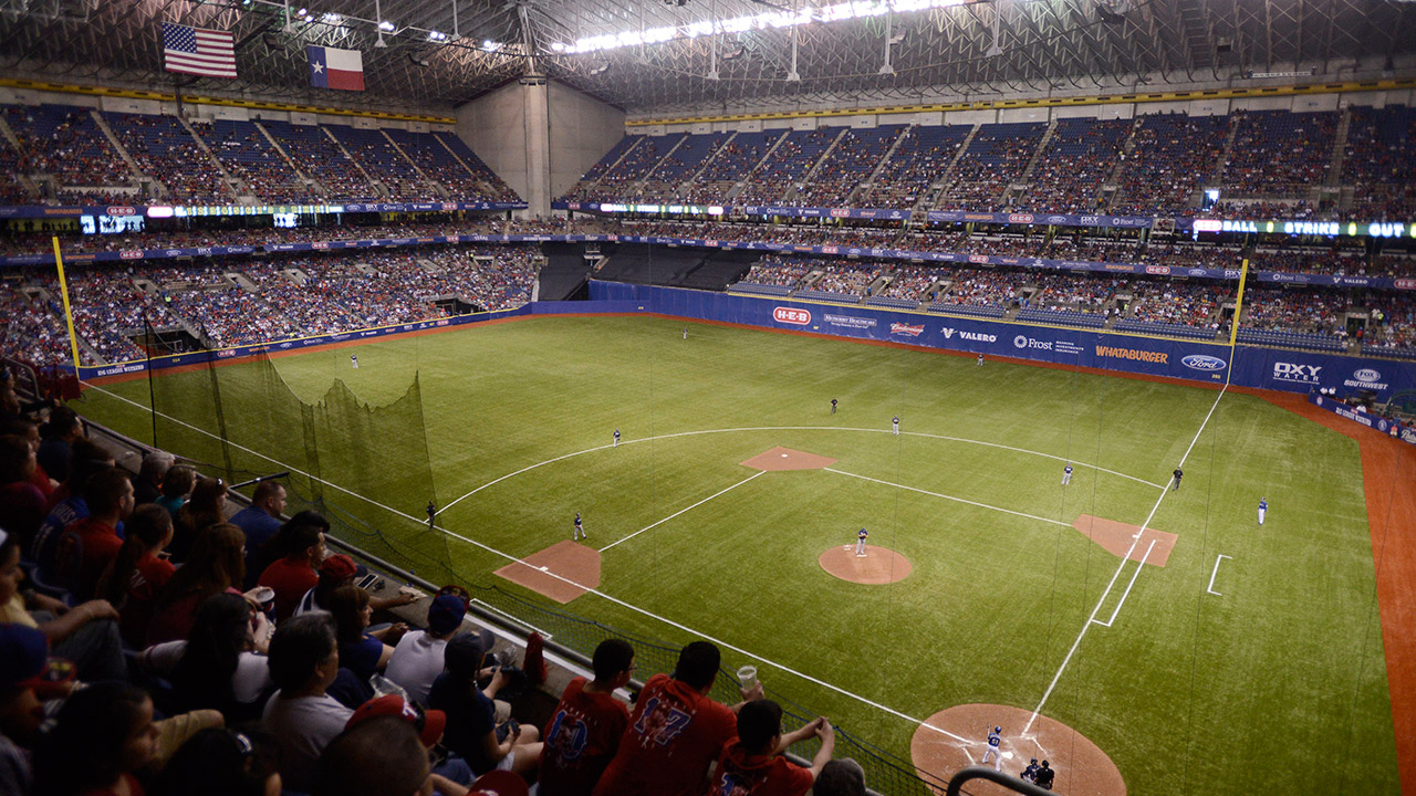 Rangers to face Indians at Alamodome next March