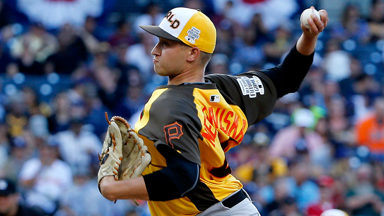 Neverauskas takes long road to Futures Game