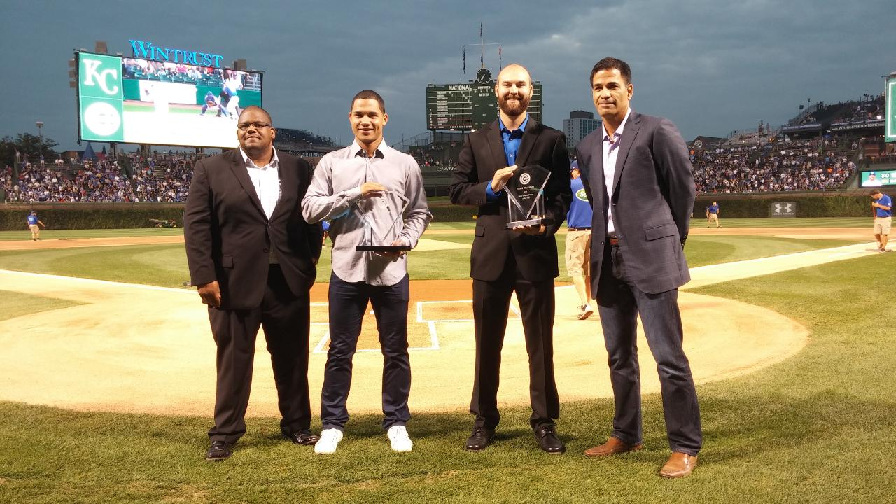 Contreras, Williams named top player, pitcher