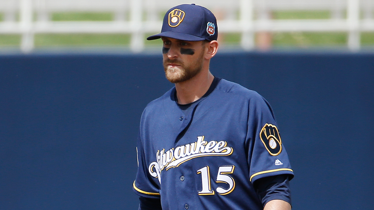 will middlebrooks plays first base for brewers mlb com