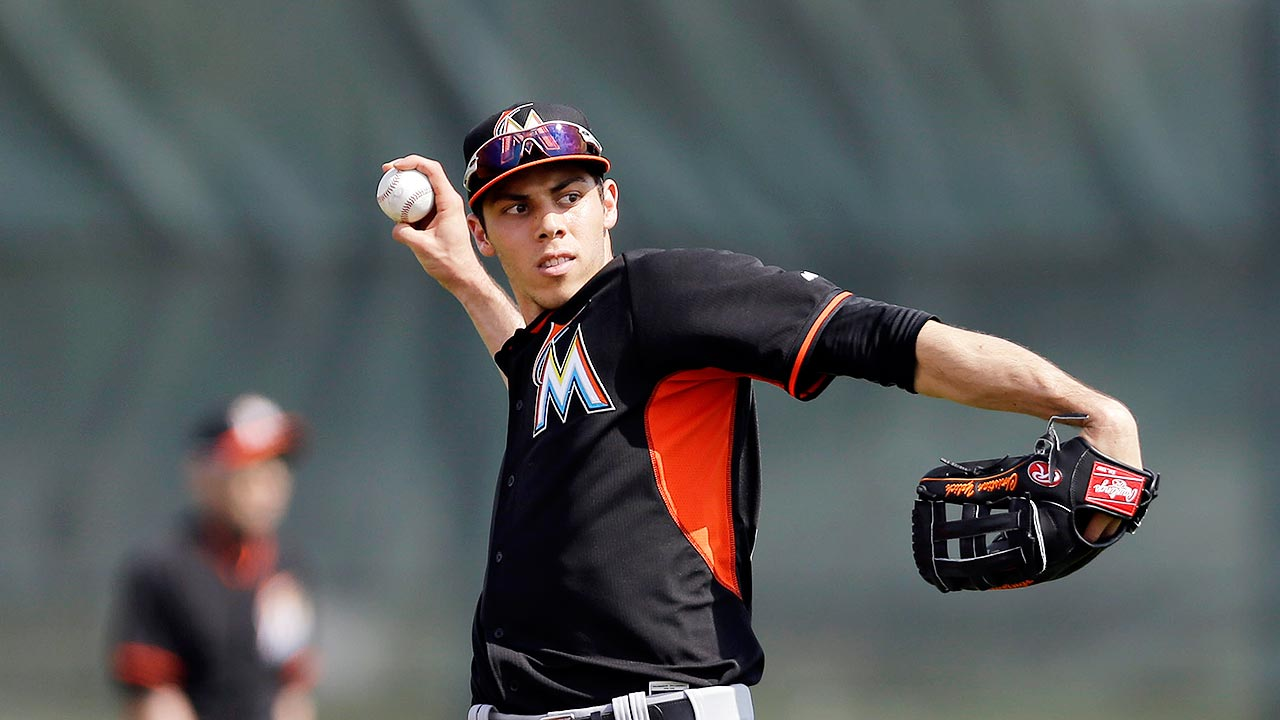 Marlins left fielder Christian Yelich reflects on time in ... Christian Yelich