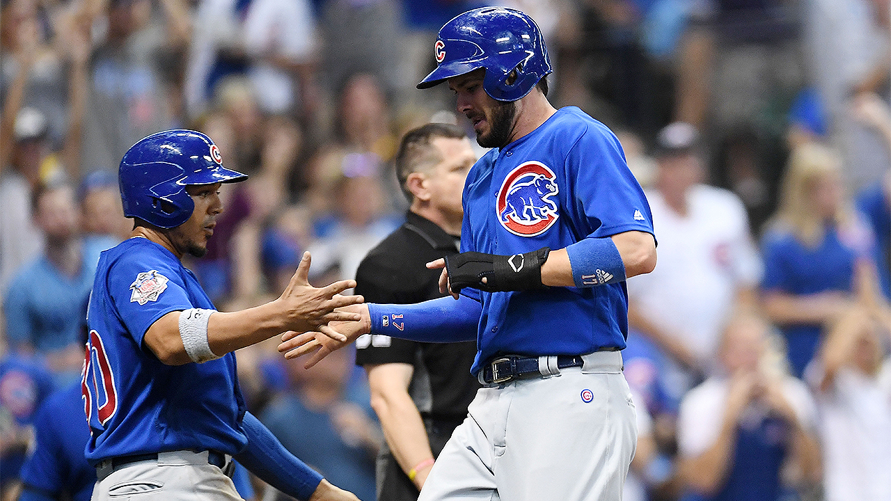 Cubs beat Brewers in 10th for 2nd night in row