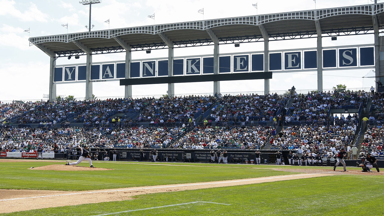 Revisions made to Yankees' spring schedule