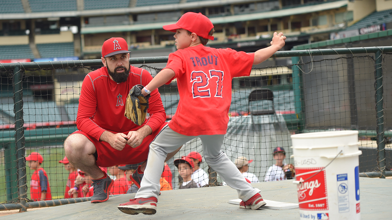 Angels host RBI Youth Baseball Camp