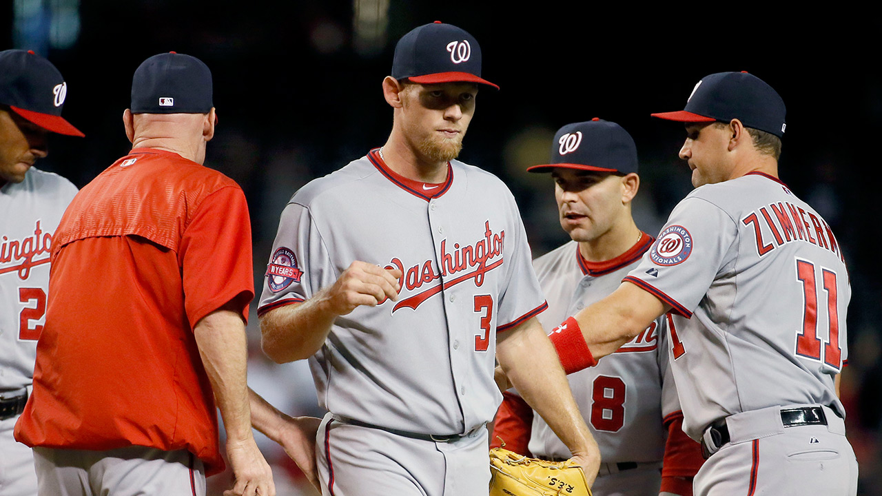 Strasburg 'embarrassed' by outing in Arizona