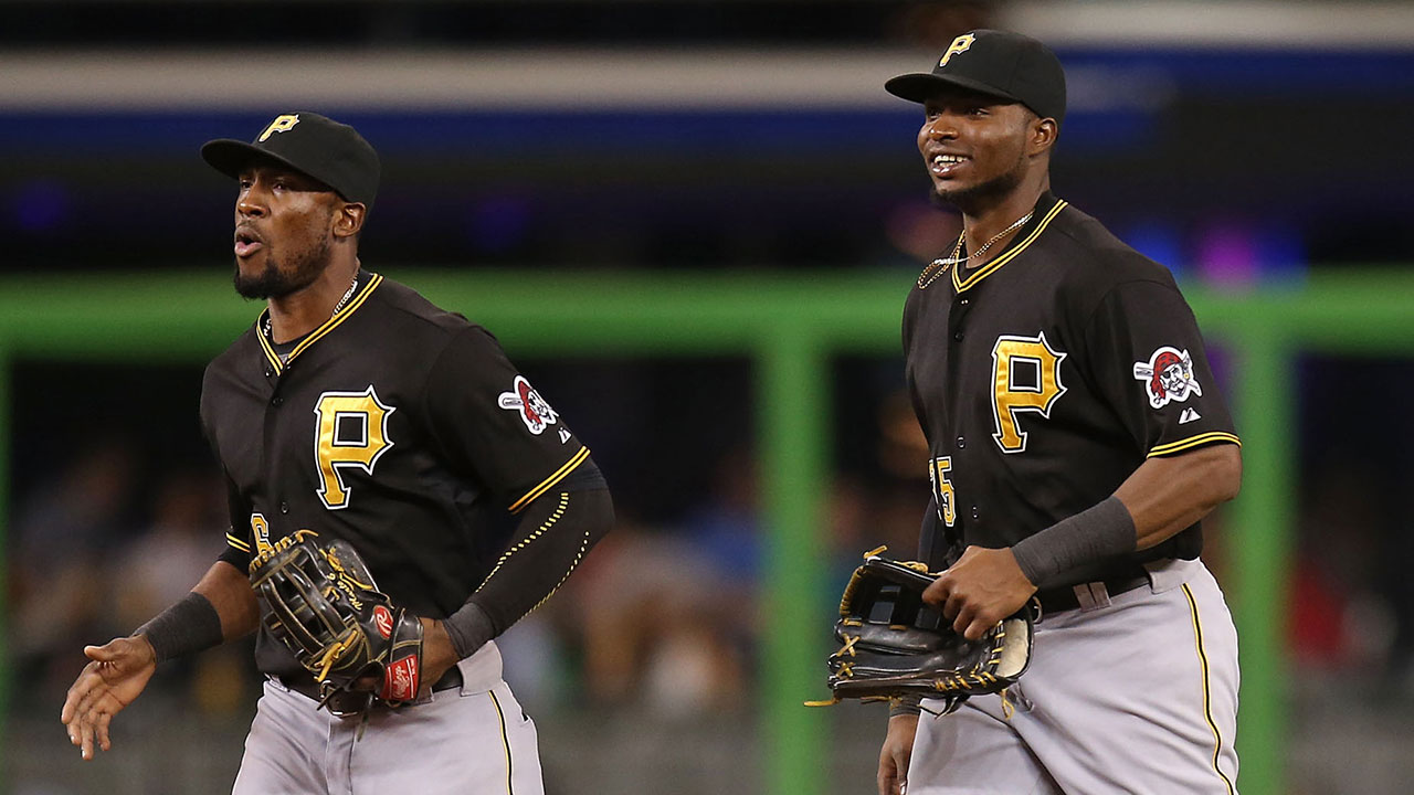 Starling marte photos photos cincinnati reds v pittsburgh pirates - Marte Sold Polanco On Benefits Of Extension Starling