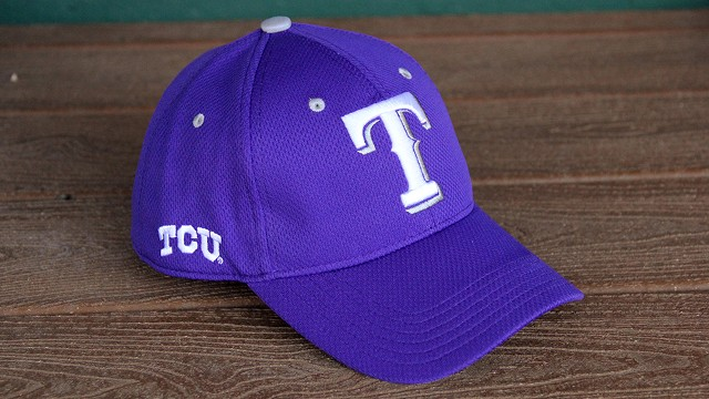 texas rangers baseball hat history don night red join fellow horned frogs evening big stadium seating capacity cap