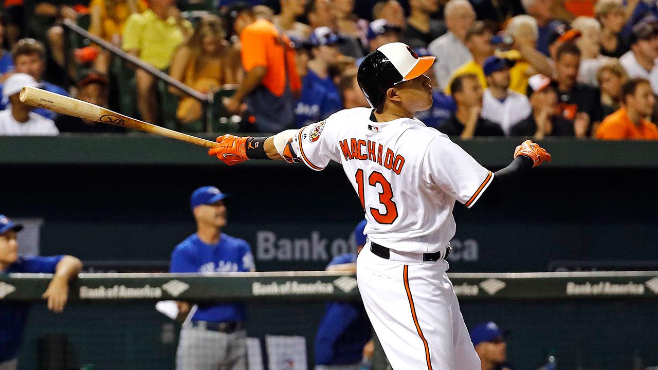 Manny Machado hits 100th career home run | MLB.com
