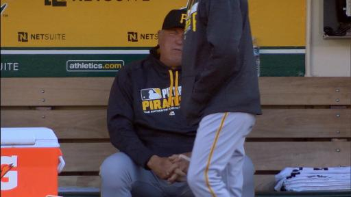 Clint Hurdle dancing