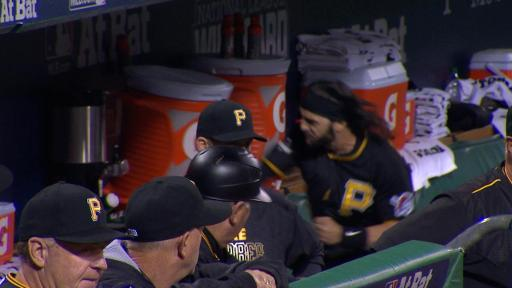 Sean Rodriguez beats water coolers