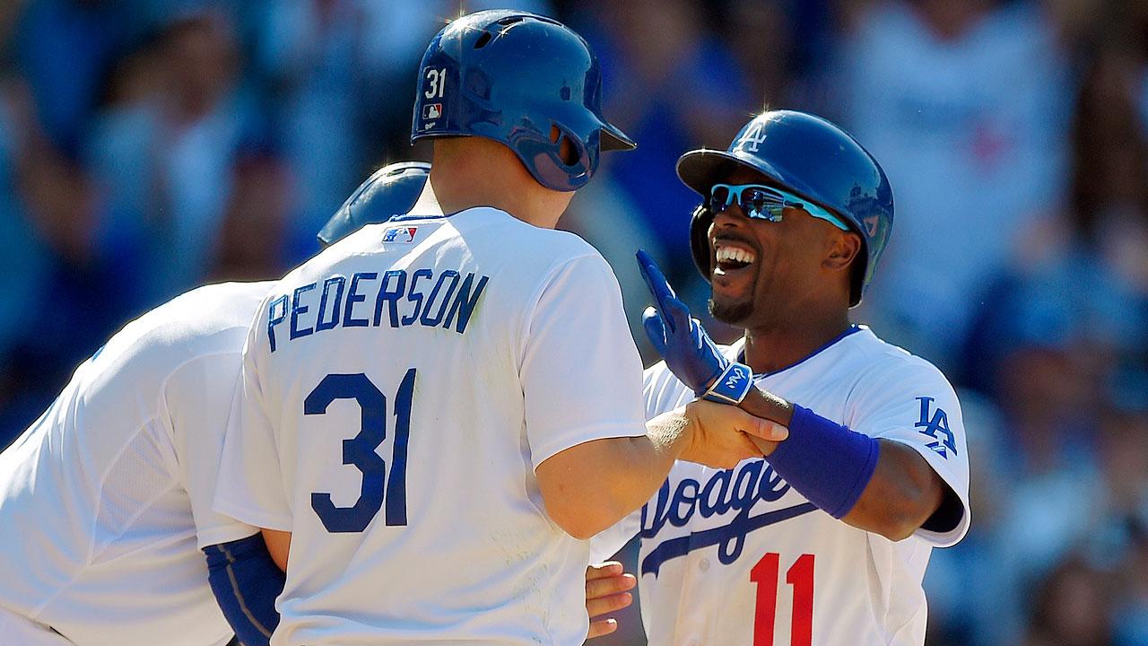 Jimmy Rollins' home run spoils Matt Kemp's big day in Los Angeles | MLB.com
