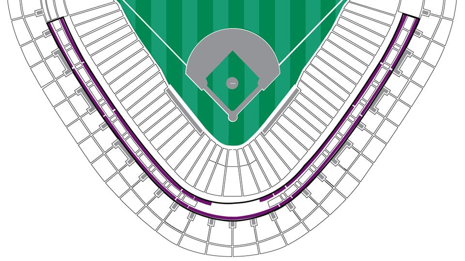 Diamond Suites MLBcom - Us cellular suite map