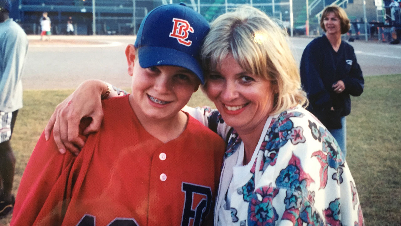 Mom's belief in Paxton helped him excel