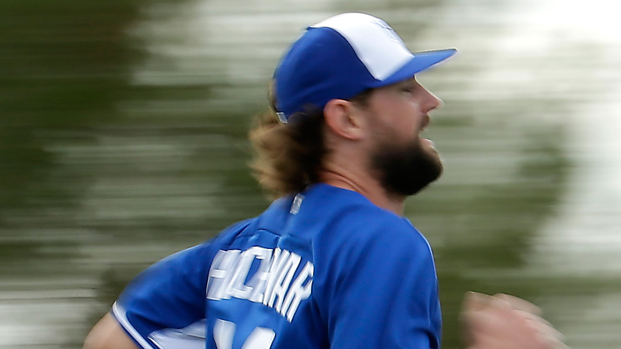 No ill effects for Hochevar after 1st BP session