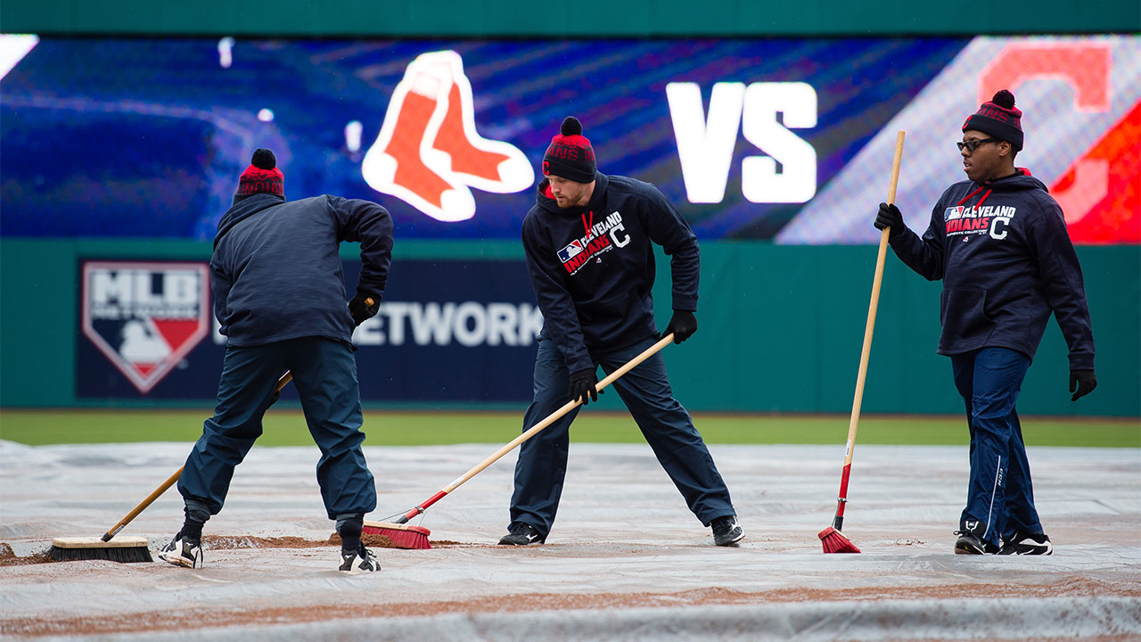 Indians, Red Sox reschedule rainout for Aug. 15