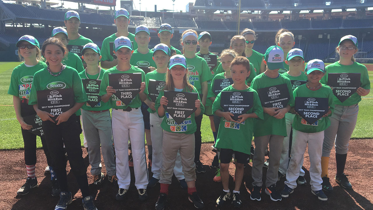 Nats play host to Pitch, Hit & Run competition