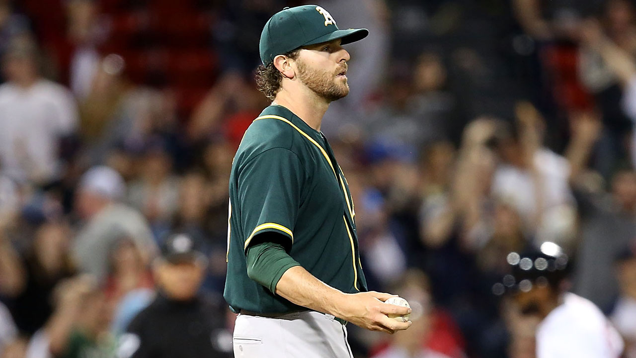 A's tab Neal as rotation replacement for Gray