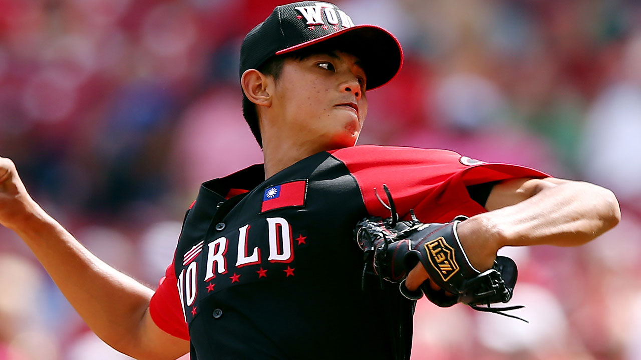 Huang rises to stage in Futures Game