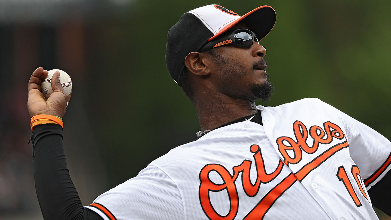 Orioles give Jones time off to rest ankle