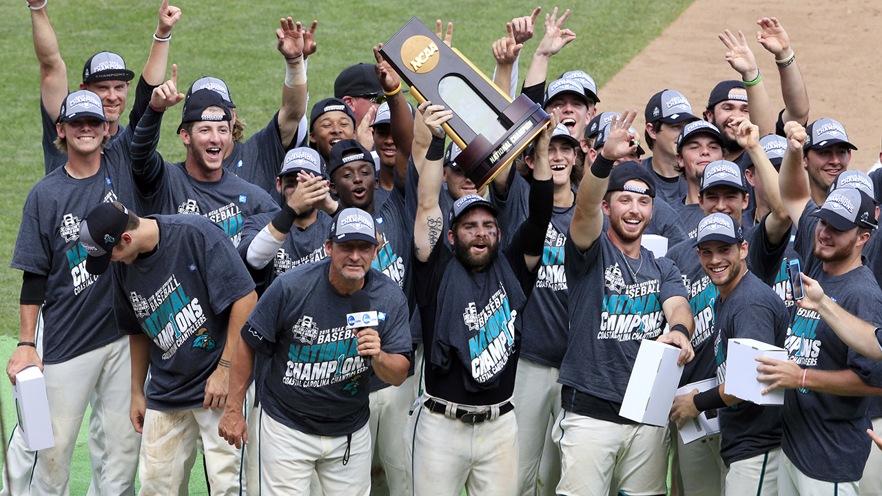 College World Series goes Coastal