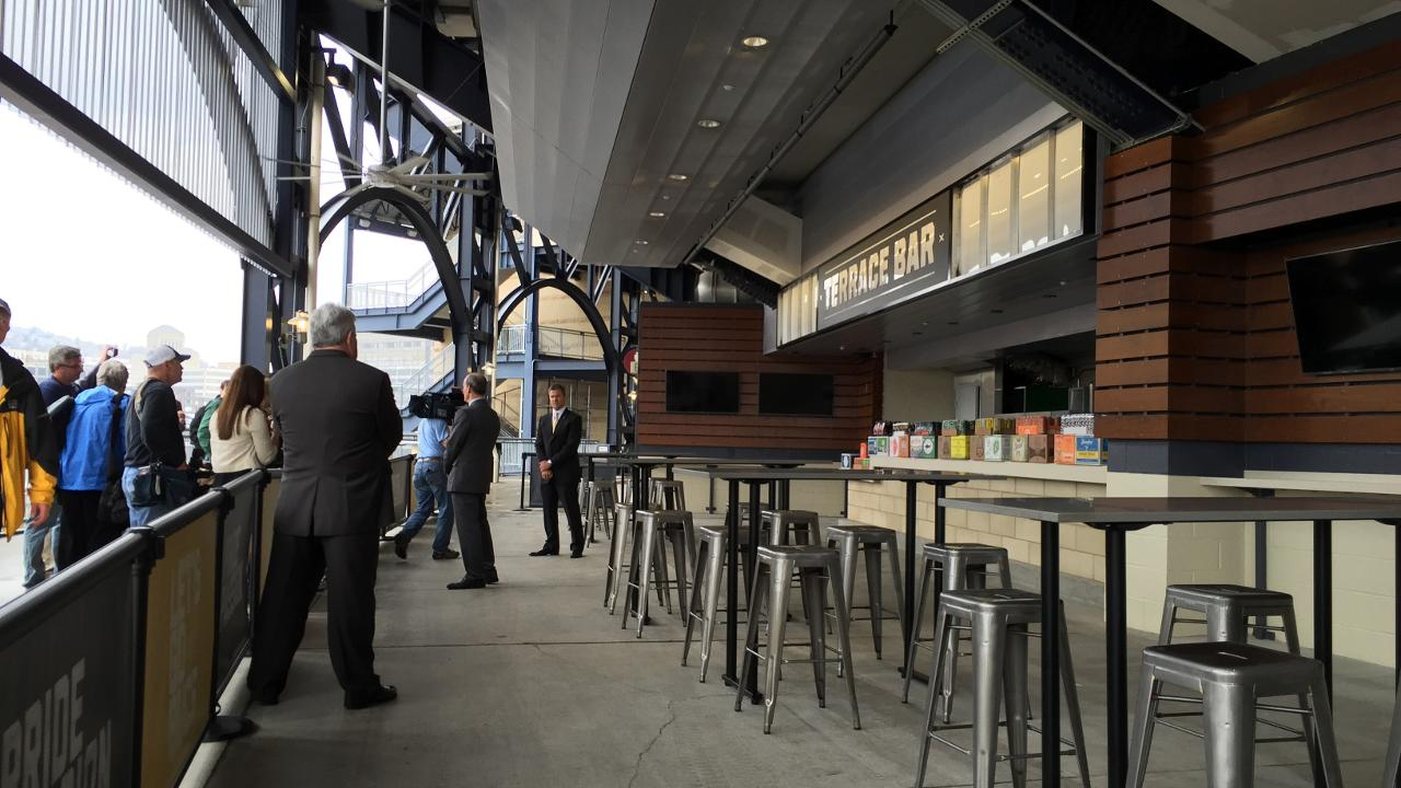 Bucs ready for fans to experience new PNC amenities