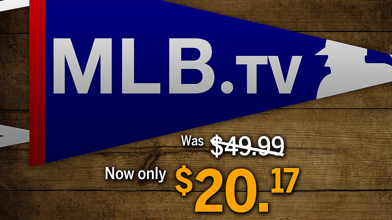 Got pennant fever? MLB.TV is on sale